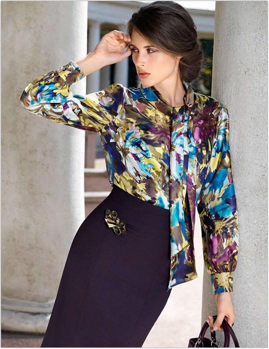 А модні блузи та жіночі сорочки 2013