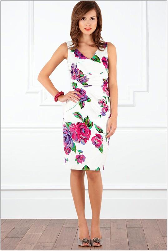 Модні літні плаття 2014 фото