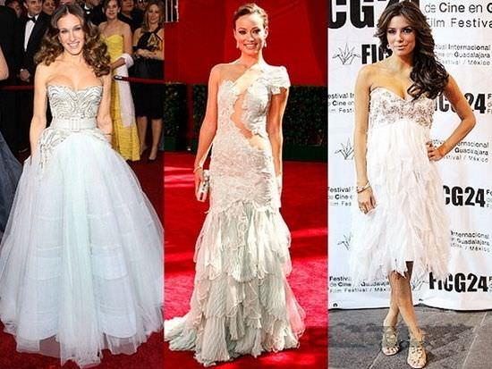 Вечірні сукні зірок