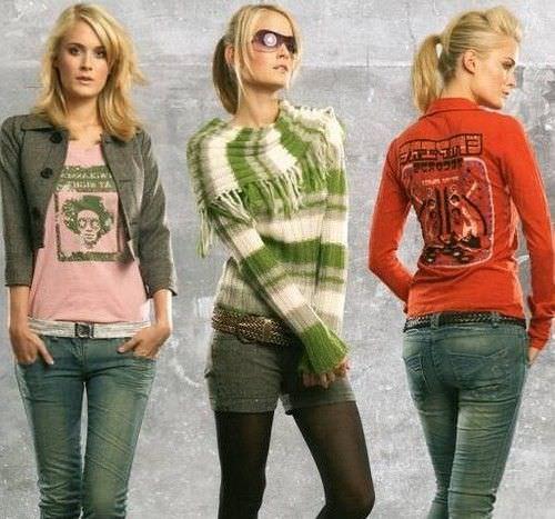Підлітковий одяг що вибирає юна